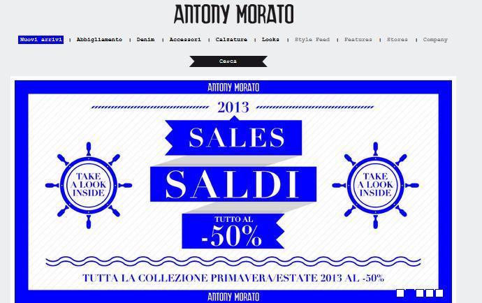Antony Morato abbigliamento