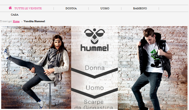 OUTLET HUMMEL SHOWROOMPRIVE