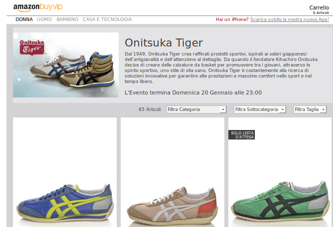 OUTLET ONITSUKA TIGER