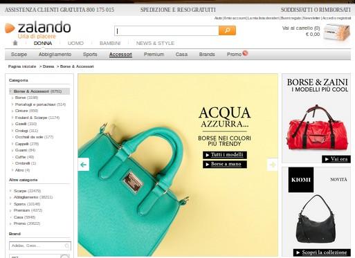 low priced 869d4 b86d7 zalando borse Archives - Abbigliamento Outlet Online