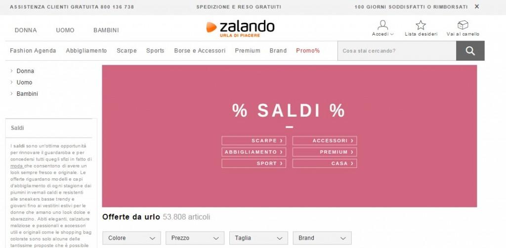 Zalando Saldi 2015
