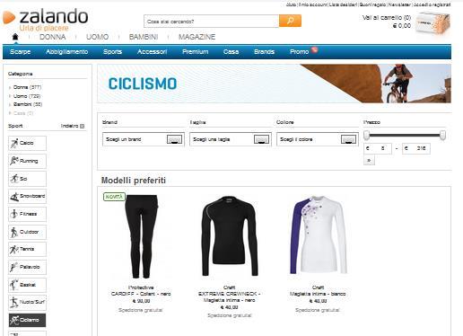 Abbigliamento ciclismo: pedalando verso il risparmio