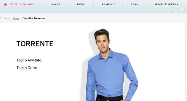 Marchi abbigliamento:  sconti fino all'80%