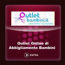 outletbambini1 Outlet Abbigliamento: i migliori siti italiani
