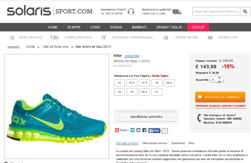 sportswear  scarpe